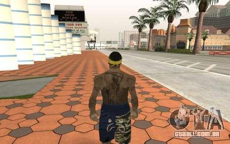 Los Santos Vagos Gang Member para GTA San Andreas segunda tela