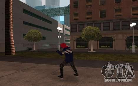 Novo v3 sem-teto para GTA San Andreas terceira tela