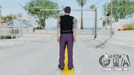 Skin de GTA 5 Online para GTA San Andreas terceira tela