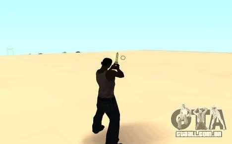 Desert eagle gradient para GTA San Andreas terceira tela
