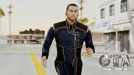 Mass Effect 3 Shepard Formal Alliance Uniform para GTA San Andreas