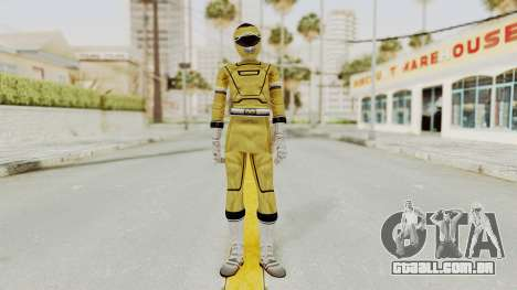 Power Rangers Turbo - Yellow para GTA San Andreas segunda tela