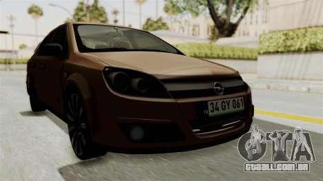 Opel Astra Sedan 2011 para GTA San Andreas vista direita