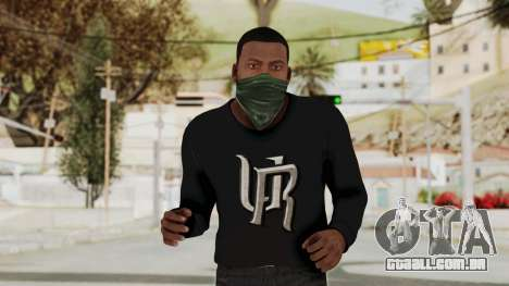 GTA 5 Franklin v1 para GTA San Andreas