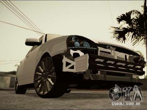 Lada Priora BPAN para GTA San Andreas traseira esquerda vista
