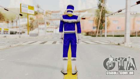Power Rangers In Space - Blue para GTA San Andreas terceira tela