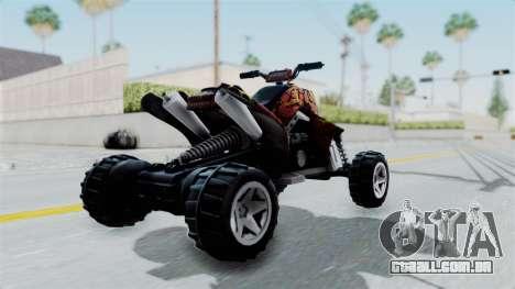 Sand Stinger from Hot Wheels v2 para GTA San Andreas esquerda vista