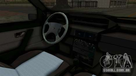 Fiat Tempra para GTA San Andreas vista interior