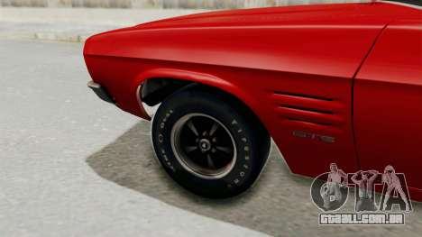 Holden Monaro GTS 1971 SA Plate IVF para GTA San Andreas vista traseira