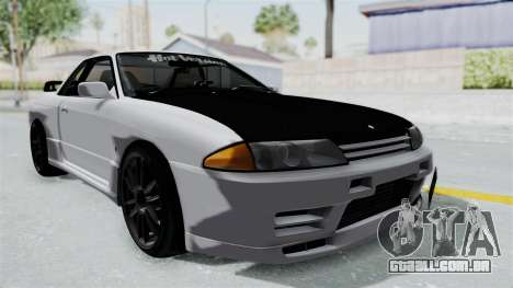 Nissan Skyline BNR32 Hot Version para GTA San Andreas vista direita