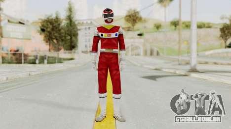Power Rangers In Space - Red para GTA San Andreas segunda tela