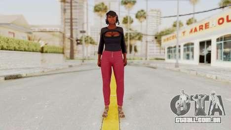 GTA 5 Hooker para GTA San Andreas segunda tela
