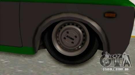 Fiat 128 De Picadas para GTA San Andreas vista traseira