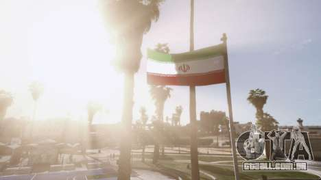 GTA 5 Iranian Flag terceiro screenshot