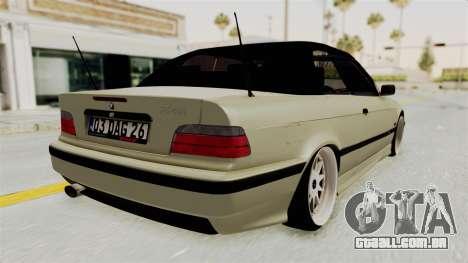 BMW 320CI E36 para GTA San Andreas vista direita