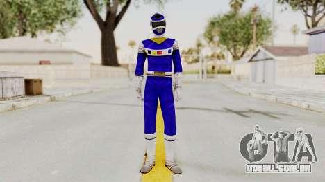Power Rangers In Space - Blue para GTA San Andreas segunda tela