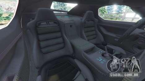 GTA 5 Devon GTX 2010 v0.1 vista lateral direita