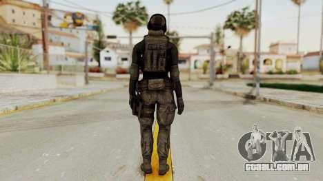 Phantomers Linda Sashantti Soldier para GTA San Andreas terceira tela
