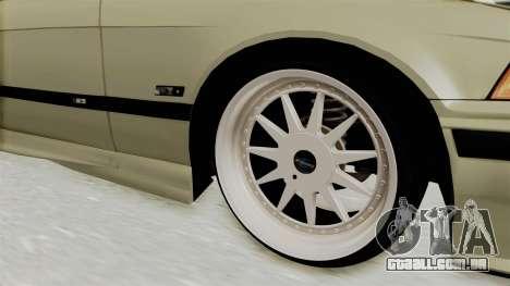 BMW 320CI E36 para GTA San Andreas vista traseira
