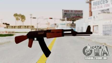 Liberty City Stories AK-47 para GTA San Andreas segunda tela