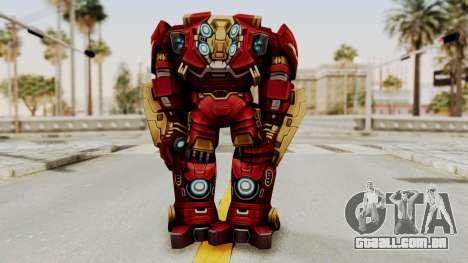 Marvel Future Fight - Hulkbuster para GTA San Andreas terceira tela