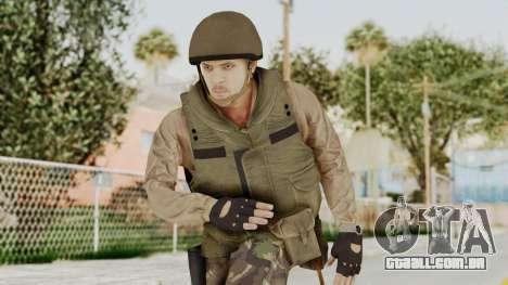 MGSV Phantom Pain RC Soldier Vest v1 para GTA San Andreas