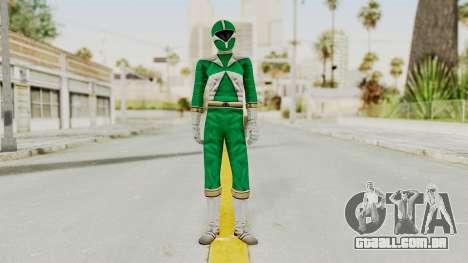 Power Rangers Lightspeed Rescue - Green para GTA San Andreas segunda tela