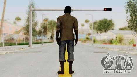 Far Cry 3 - Dennis Rogers para GTA San Andreas terceira tela