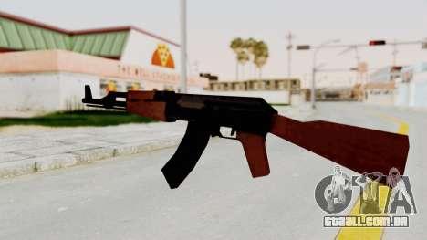 Liberty City Stories AK-47 para GTA San Andreas terceira tela