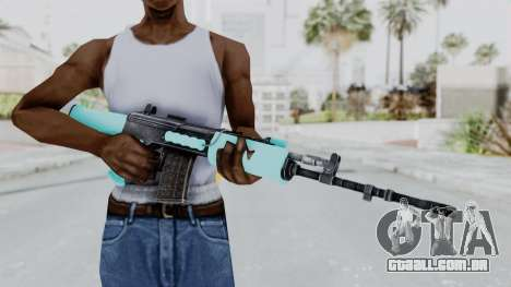 IOFB INSAS Light Blue para GTA San Andreas terceira tela