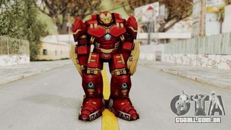 Marvel Future Fight - Hulkbuster para GTA San Andreas segunda tela