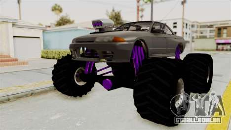 Nissan Skyline R32 4 Door Monster Truck para GTA San Andreas