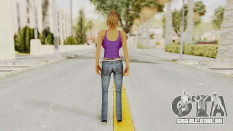Busty Girl para GTA San Andreas terceira tela