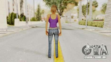 Busty Girl para GTA San Andreas terceira tela
