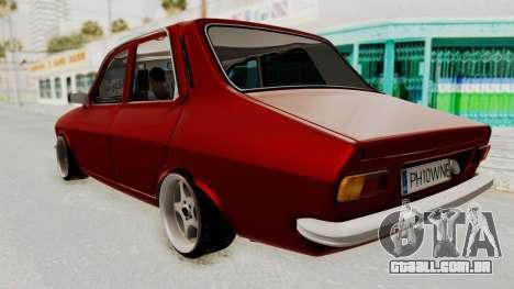 Dacia 1310 WNE para GTA San Andreas traseira esquerda vista