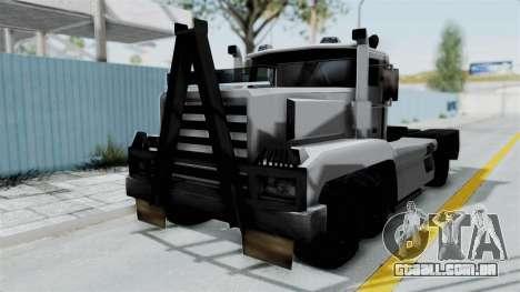 Roadtrain 8x8 v1 para GTA San Andreas