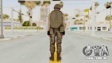 MGSV Phantom Pain RC Soldier Vest v1 para GTA San Andreas terceira tela