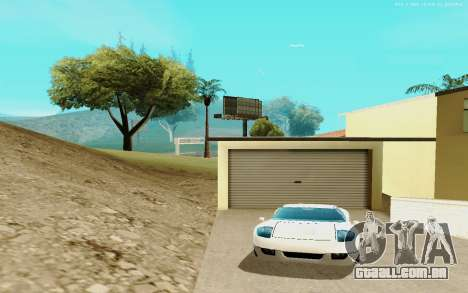 ENB Series for SAMP 0.3.7 para GTA San Andreas por diante tela