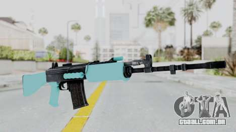 IOFB INSAS Light Blue para GTA San Andreas