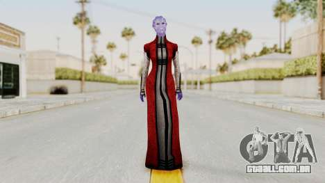 Mass Effect Council Tevos para GTA San Andreas segunda tela