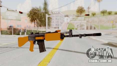 IOFB INSAS Plastic Orange Skin para GTA San Andreas
