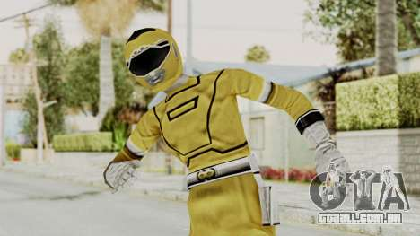 Power Rangers Turbo - Yellow para GTA San Andreas