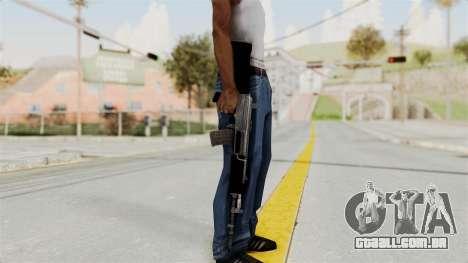 IOFB INSAS Plastic Black Skin para GTA San Andreas terceira tela