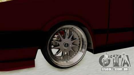 Tofas Dogan 1.6 para GTA San Andreas vista traseira