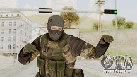 MGSV TPP Diamond Dog Combat Male para GTA San Andreas