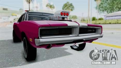 Dodge Charger 1969 Drag para GTA San Andreas