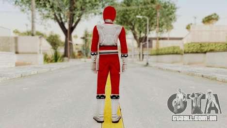 Power Rangers Lost Galaxy - Red para GTA San Andreas terceira tela