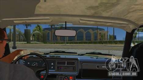 VAZ 2107 para GTA San Andreas vista interior