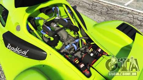 GTA 5 Radical RXC Turbo vista lateral direita