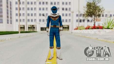Power Ranger Zeo - Blue para GTA San Andreas segunda tela